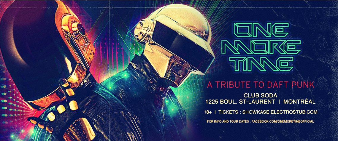 ONE MORE TIME : A Tribute To Daft Punk
