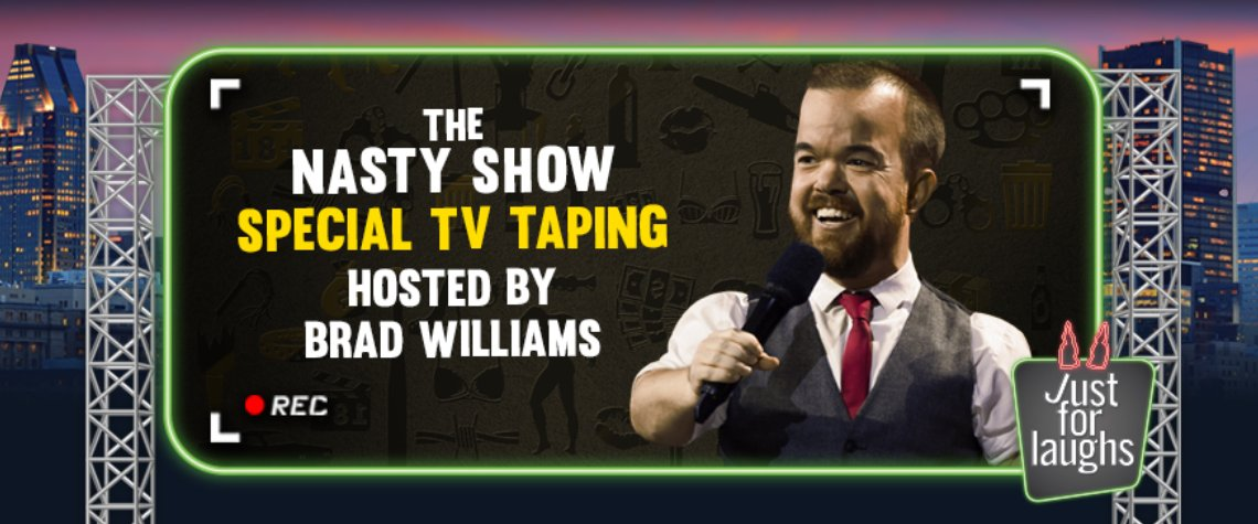 The Nasty Show special TV taping